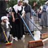 Street Scrubbing