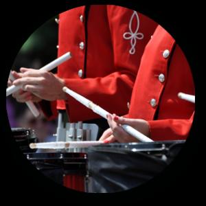 Pride of the Dutchmen drumline