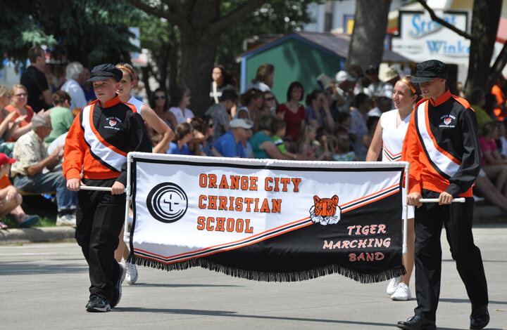 Image result for orange city fl parade